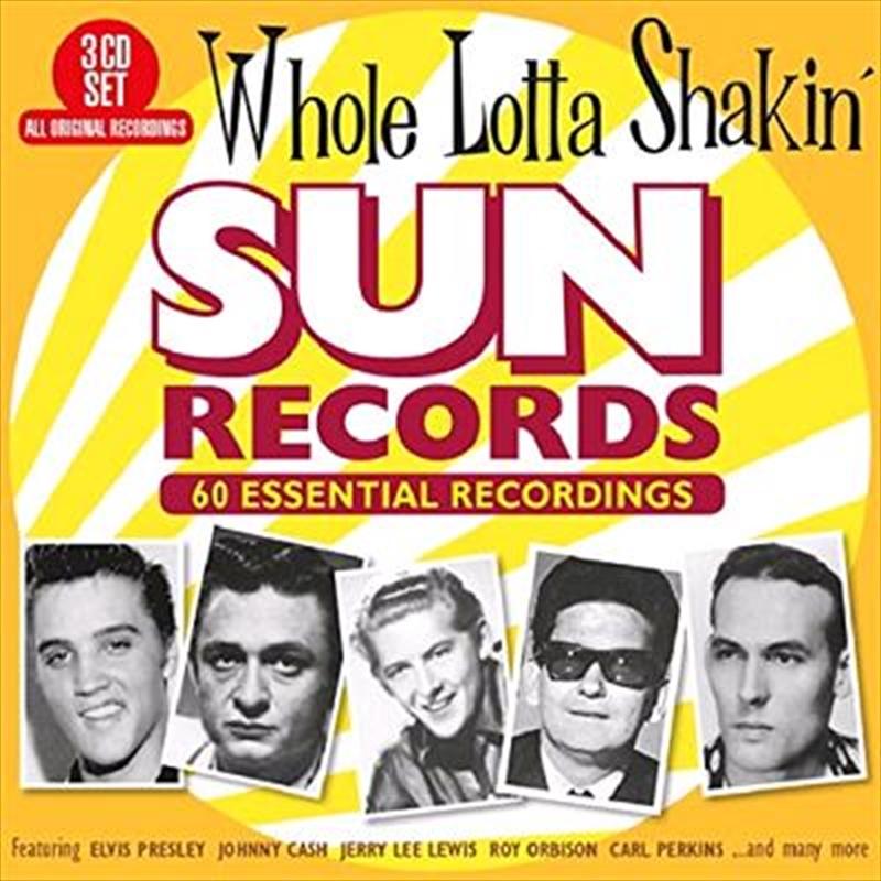 Whole Lotta Shakin - Sun Record   CD