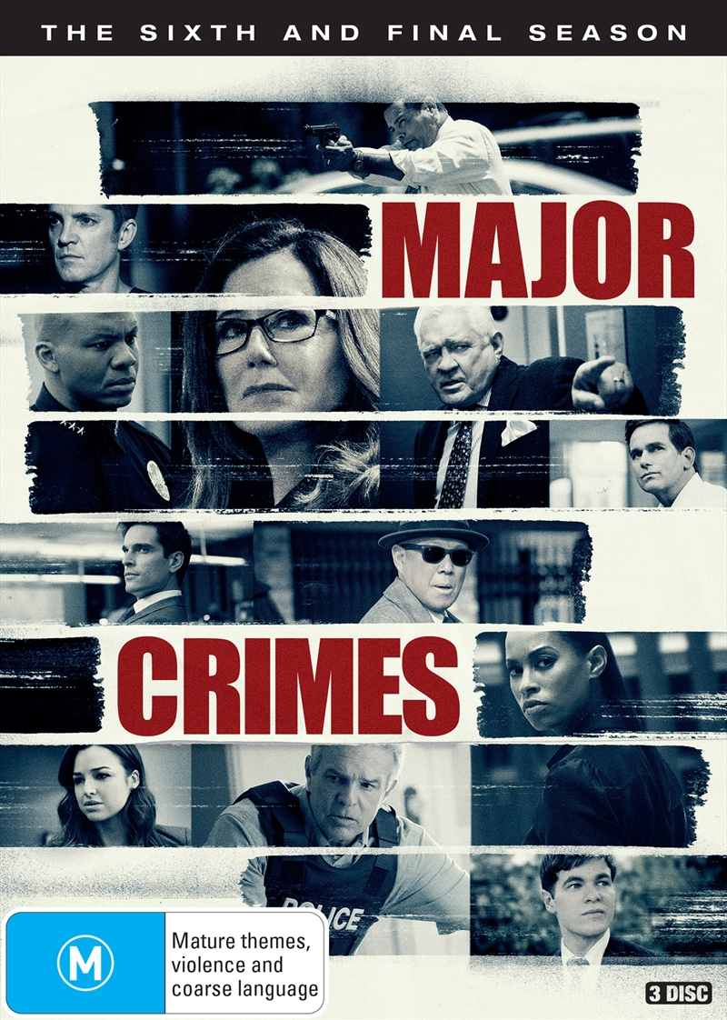 Buy Major Crimes Season 6 On Dvd Sanity Online