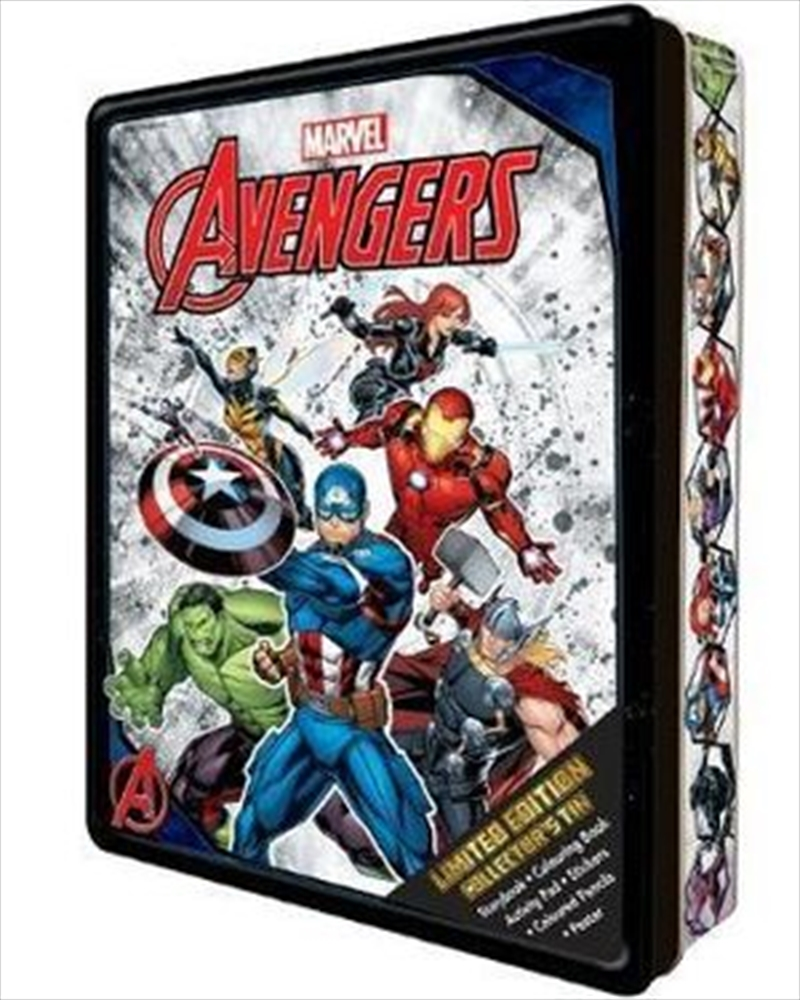 Marvel Avengers: Collector's Tin | Hardback Book