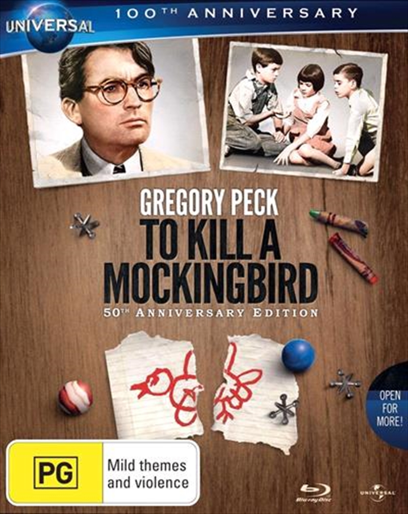 To Kill A Mockingbird - 50th Anniversary Edition | Blu-ray