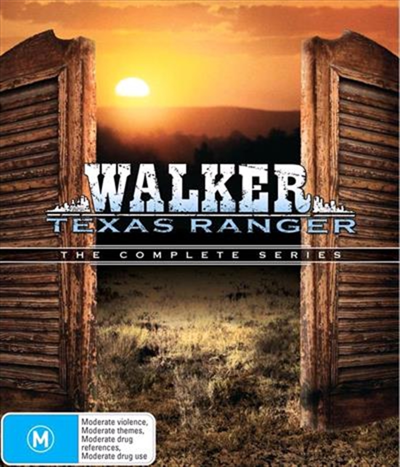 Walker, Texas Ranger | Complete Series | DVD