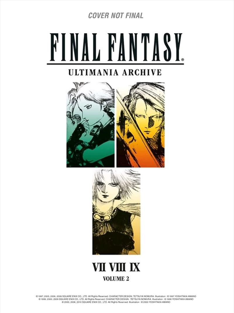 Final Fantasy - Ultimania Volume 2 Book   Books