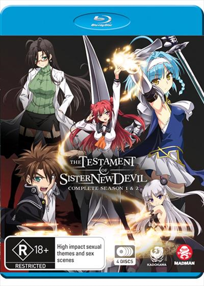 Testament Of Sister New Devil - Season 1-2, The | Blu-ray