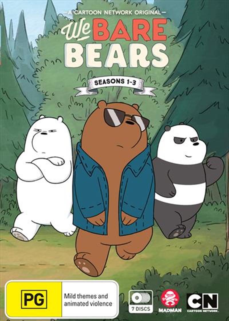 We Bare Bears - Season 1-3 | Boxset | DVD
