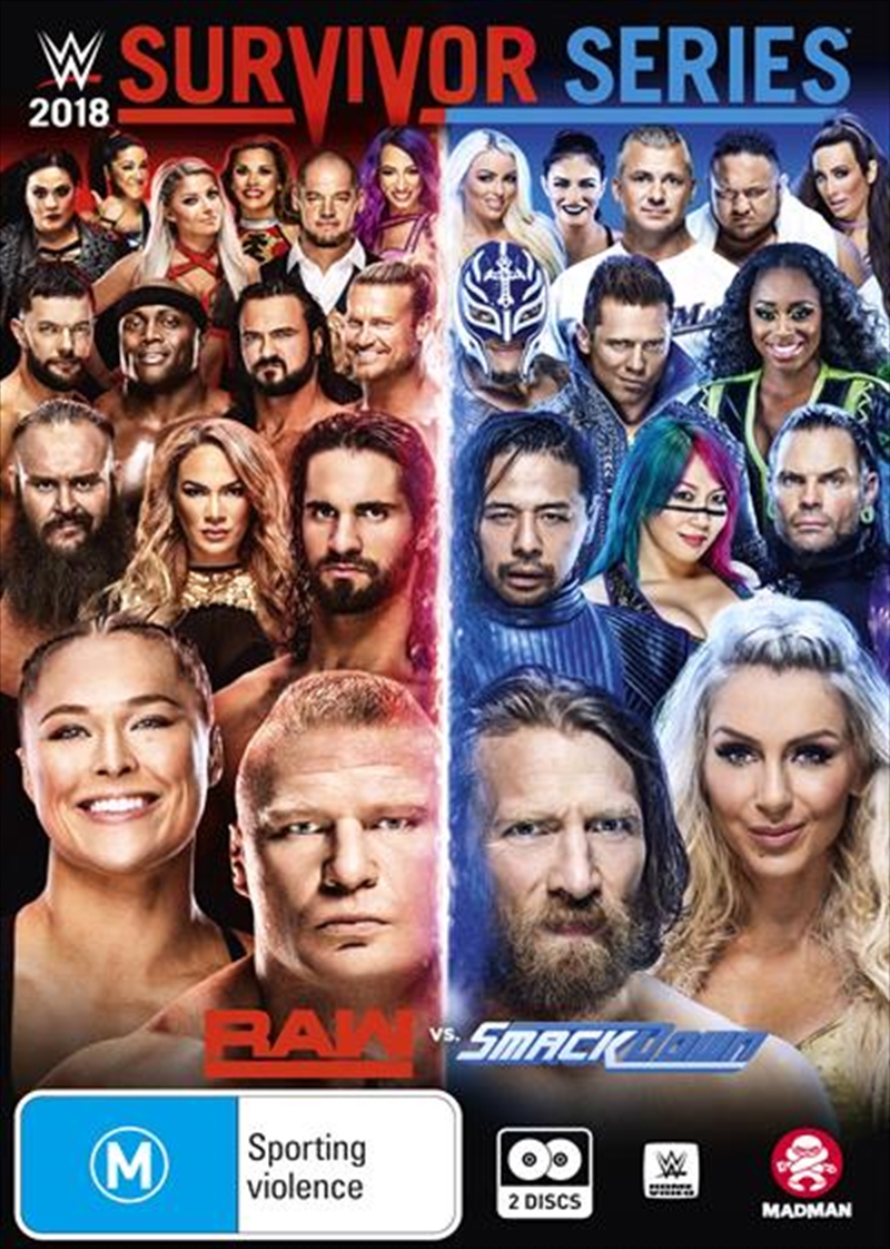 WWE - Survivor Series 2018 | DVD
