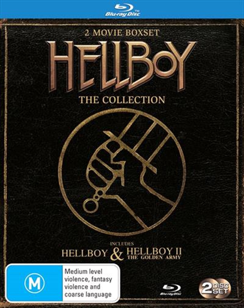 Hellboy / Hellboy II- The Golden Army | Blu-ray