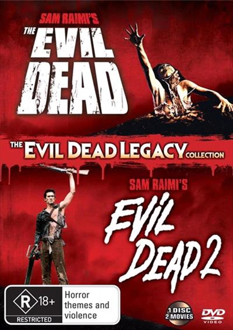 Evil Dead Legacy Collection | DVD