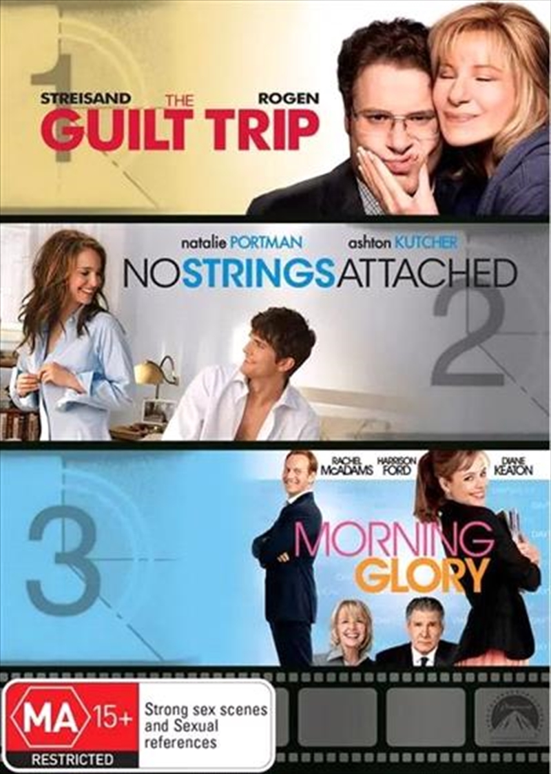 Guilt Trip / Morning Glory / No Strings Attached, The | DVD