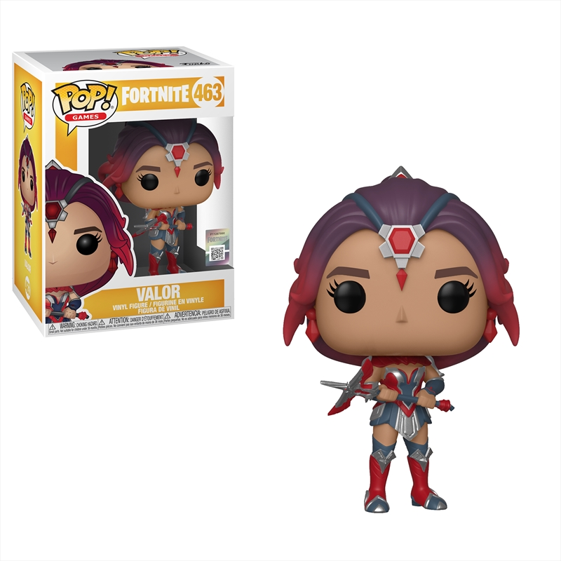 Fortnite - Valor Pop! Vinyl | Pop Vinyl