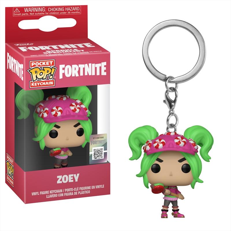 Fortnite - Zoey Pop! Keychain | Pop Vinyl