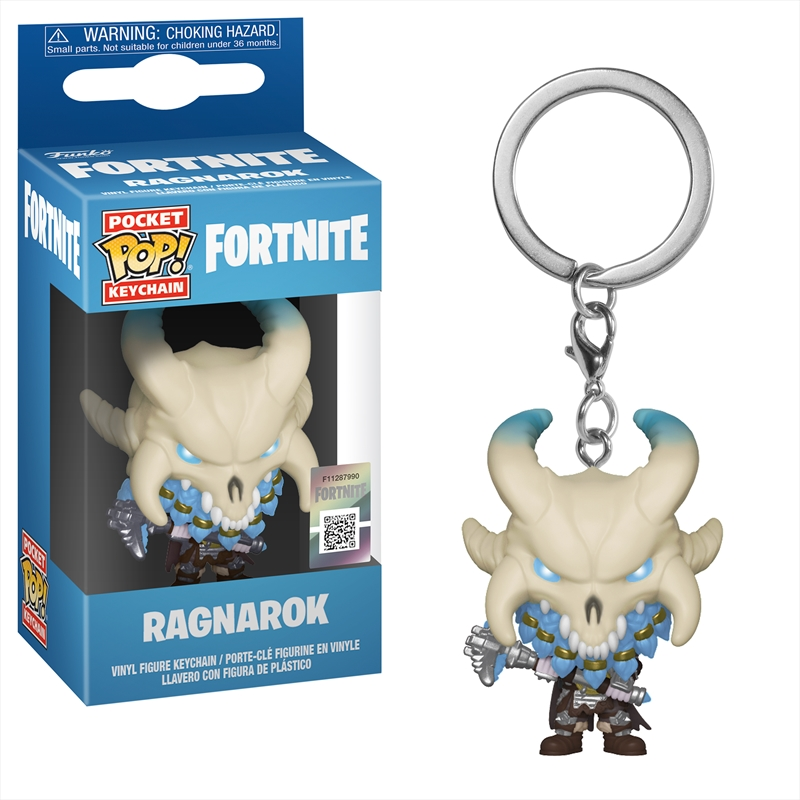 Fortnite - Ragnarok Pop! Keychain | Pop Vinyl