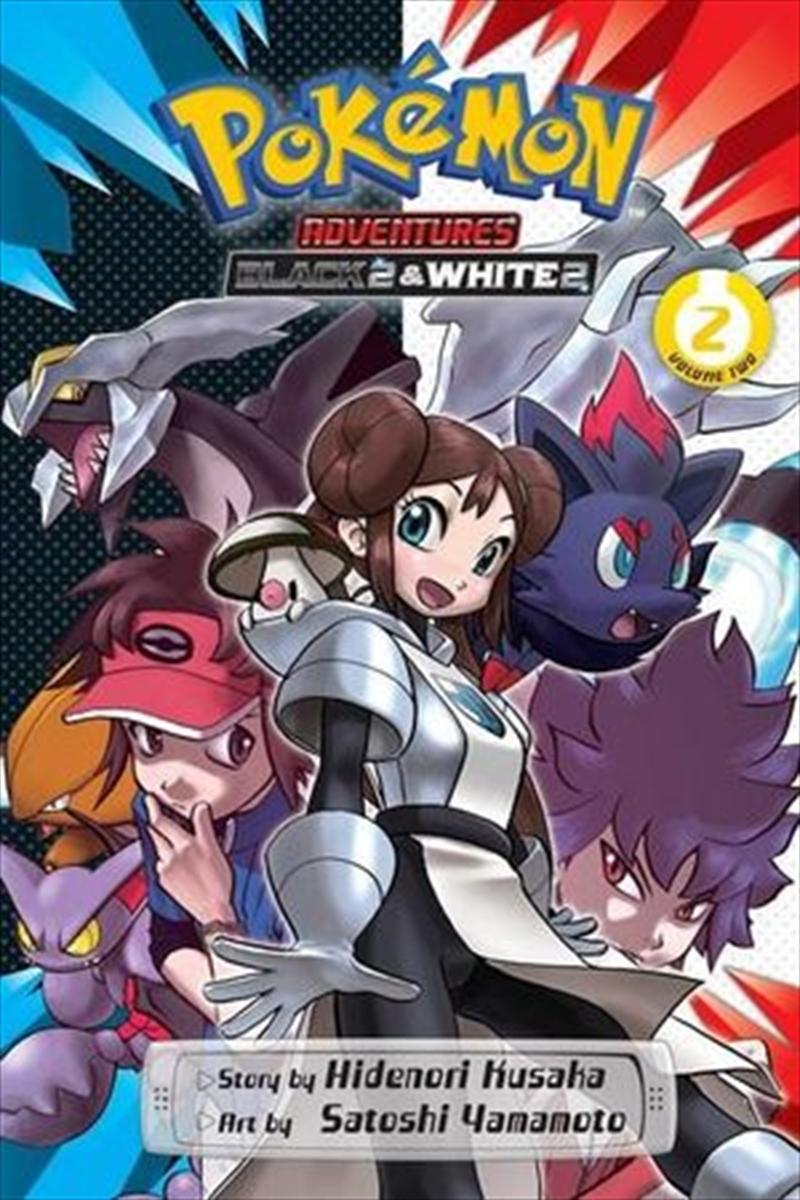 Pokemon Adventures: Black 2 & White 2, Vol. 2 | Paperback Book
