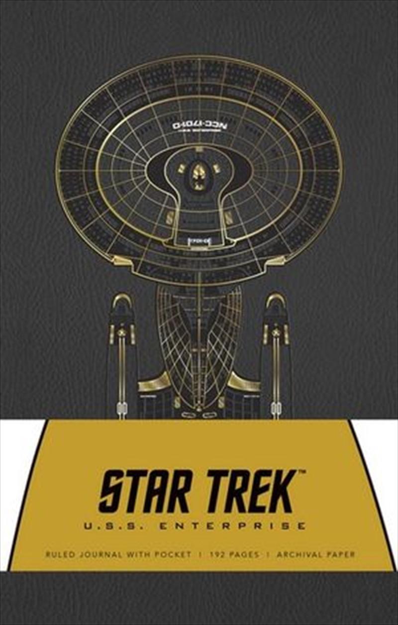 Star Trek Hardcover Ruled Journal | Hardback Book