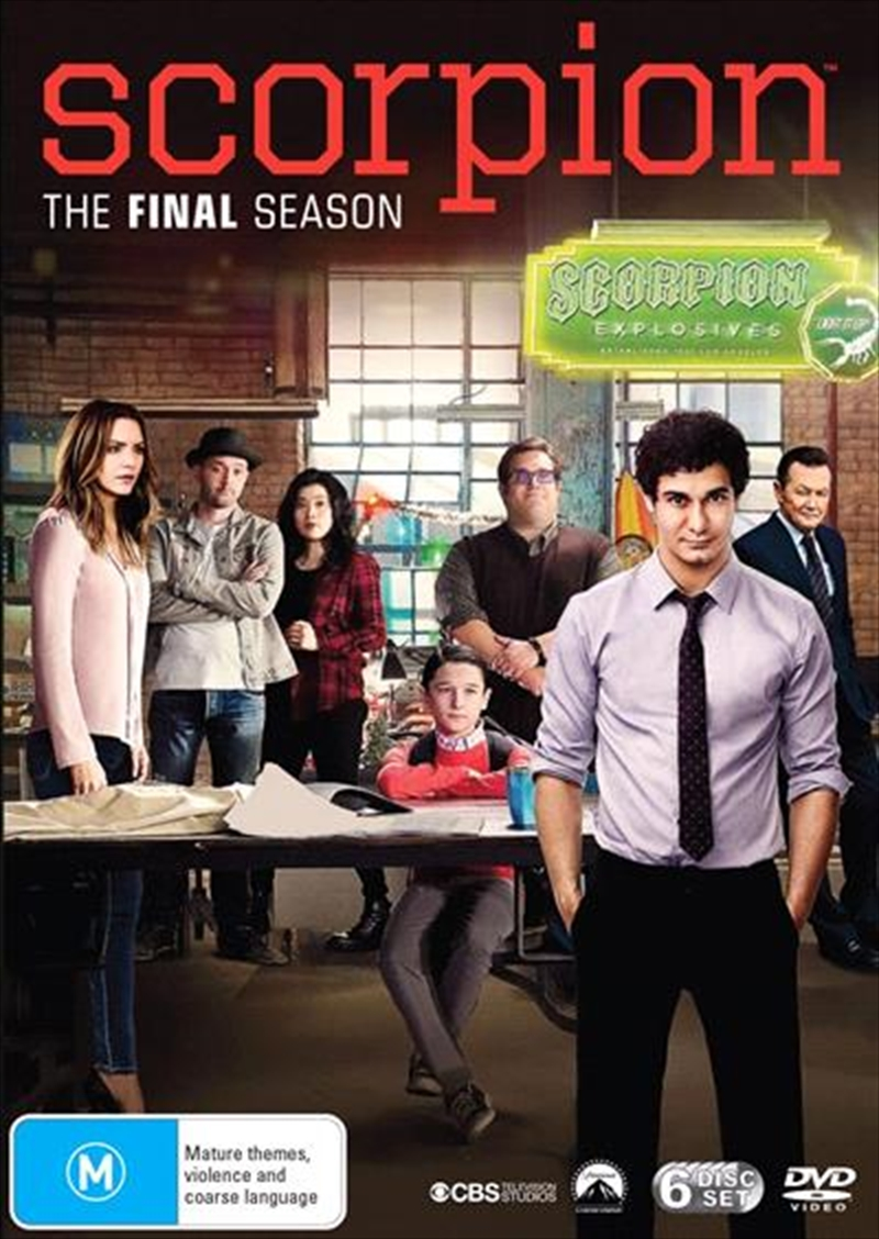 Scorpion - Season 4 | DVD