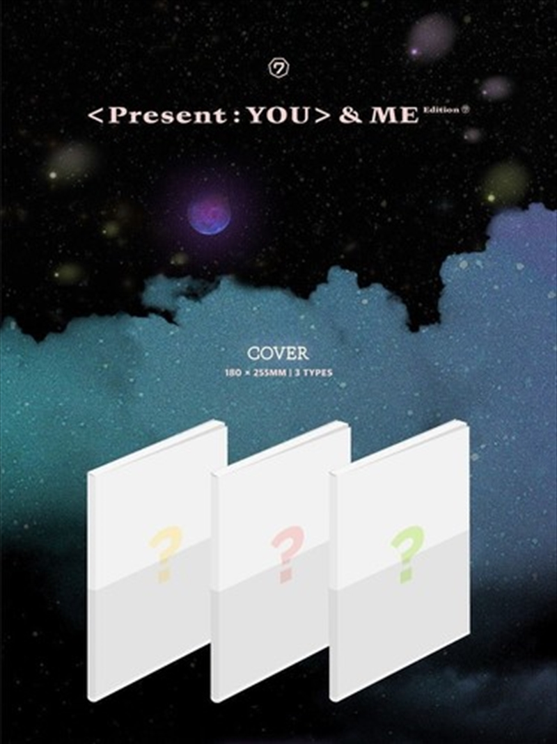 Vol 3 Repackage Album - Present You And Me Edition   CD