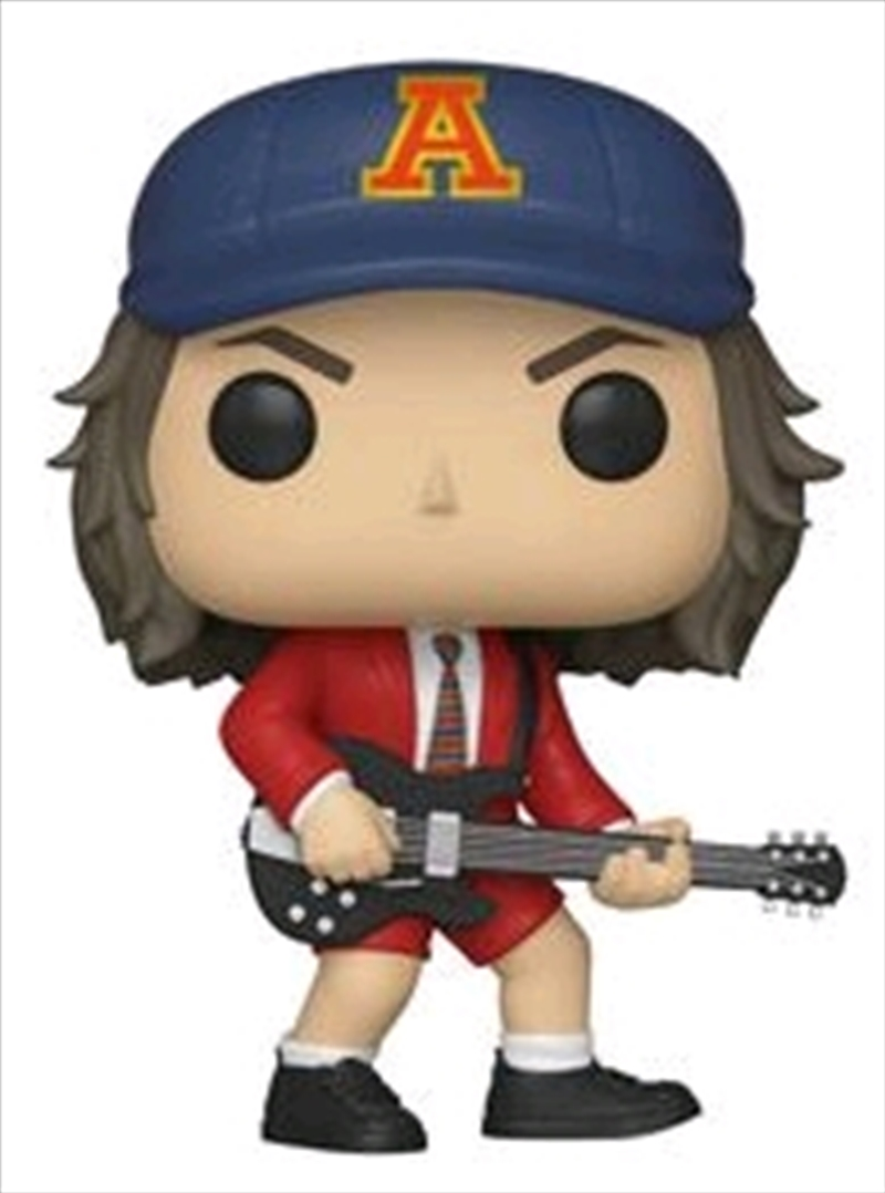 AC/DC - Angus Young Red Jacket US Exclusive Pop! [RS] | Pop Vinyl