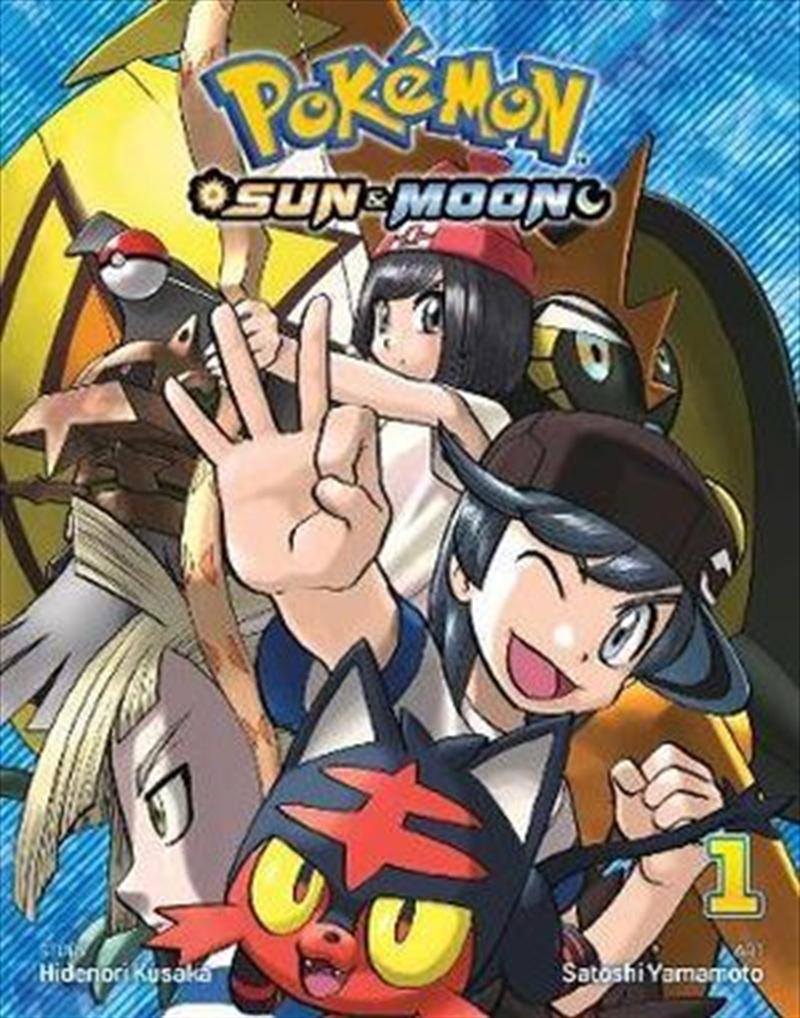 Pokemon: Sun And Moon: Vol 1   Paperback Book