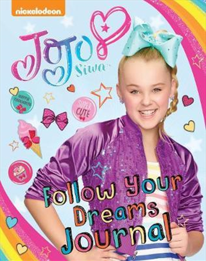 JoJo Siwa Follow Your Dreams Journal | Paperback Book