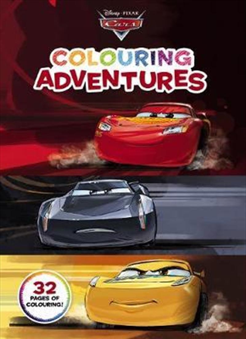 Disney Pixar Cars: Colouring Adventures | Paperback Book