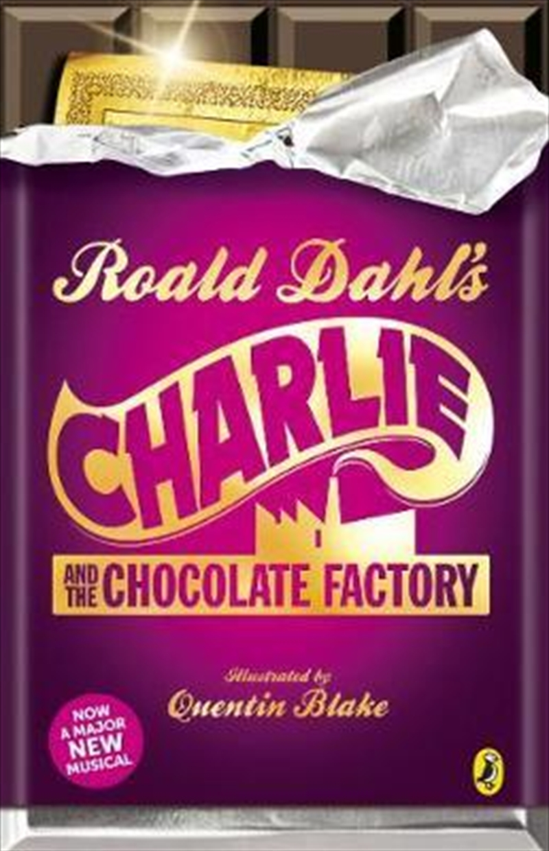Charlie And The Chocolate Factory | Paperback Book