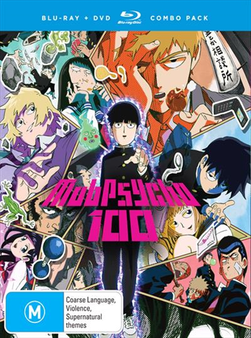 Mob Psycho 100 - Season 1 | Blu-ray/DVD