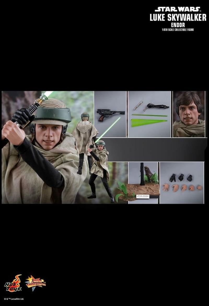 "Star Wars - Luke Skywalker Endor 12"" 1:6 Scale Action Figure | Merchandise"