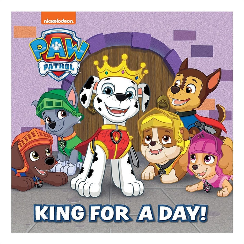 PAW Patrol King For A Day Storyboard | Hardback Book