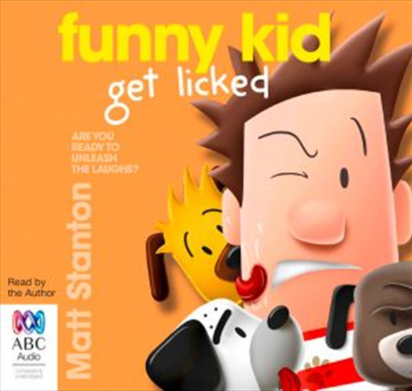 Funny Kid Get Licked! | Audio Book