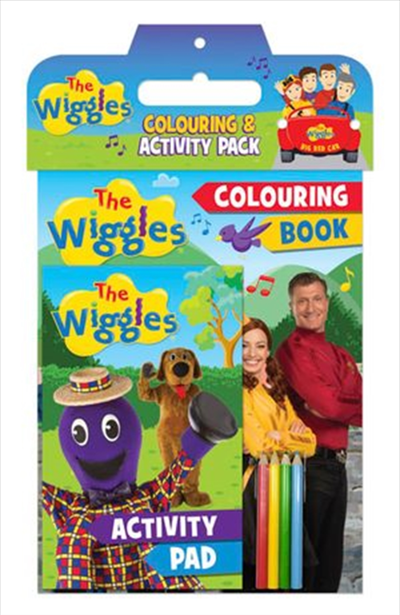 Wiggles: Colouring And Activity Pack | Paperback Book