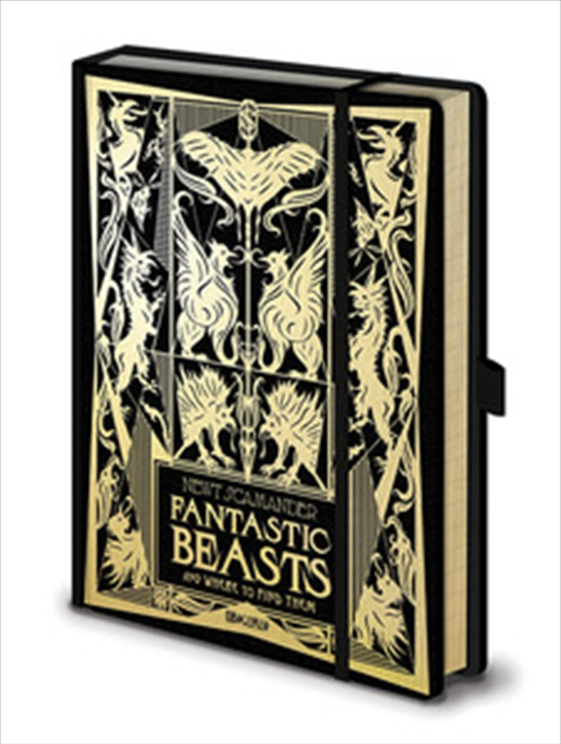 Fantastic Beasts - The Crimes Of Grindelwald - A5 Notebook | Merchandise