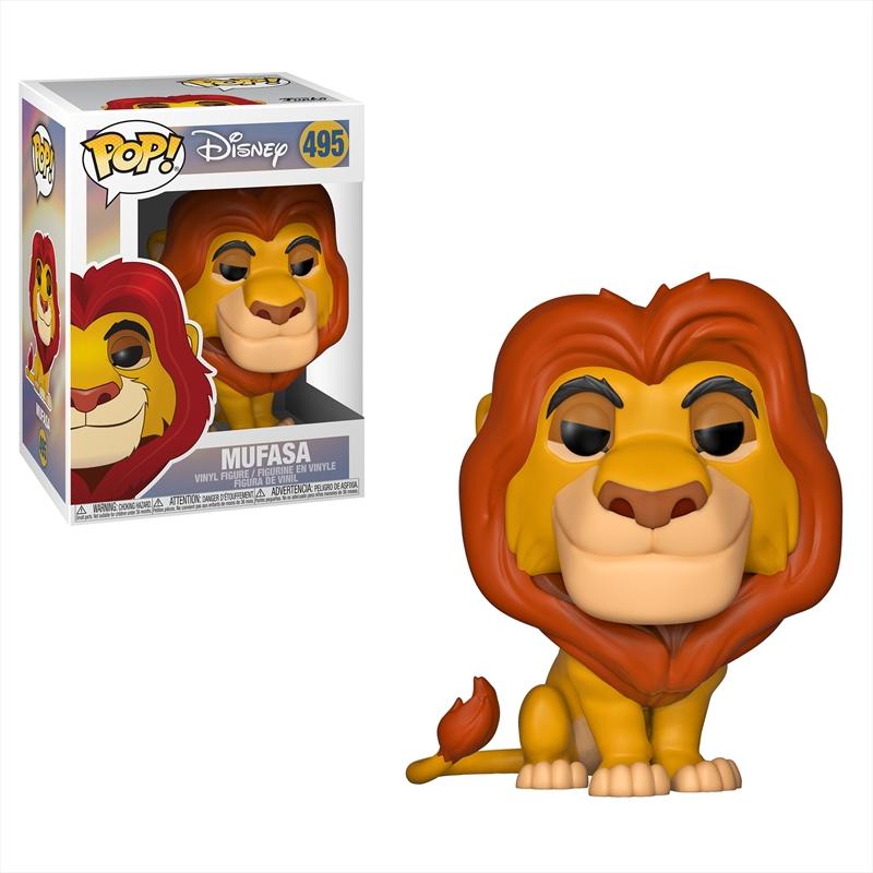 Lion King - Mufasa Pop! Vinyl   Pop Vinyl