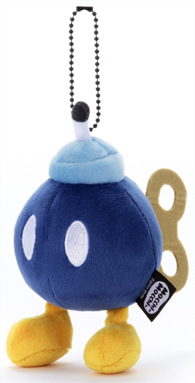 Mocchi Mocchi Mario Kart Plush Small Bomb   Toy