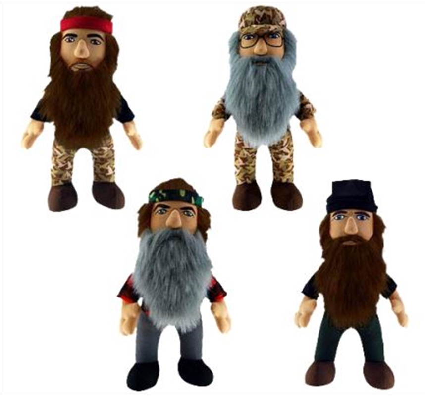 """Duck Dynasty - 8"""" Plush with Sound Assortment 