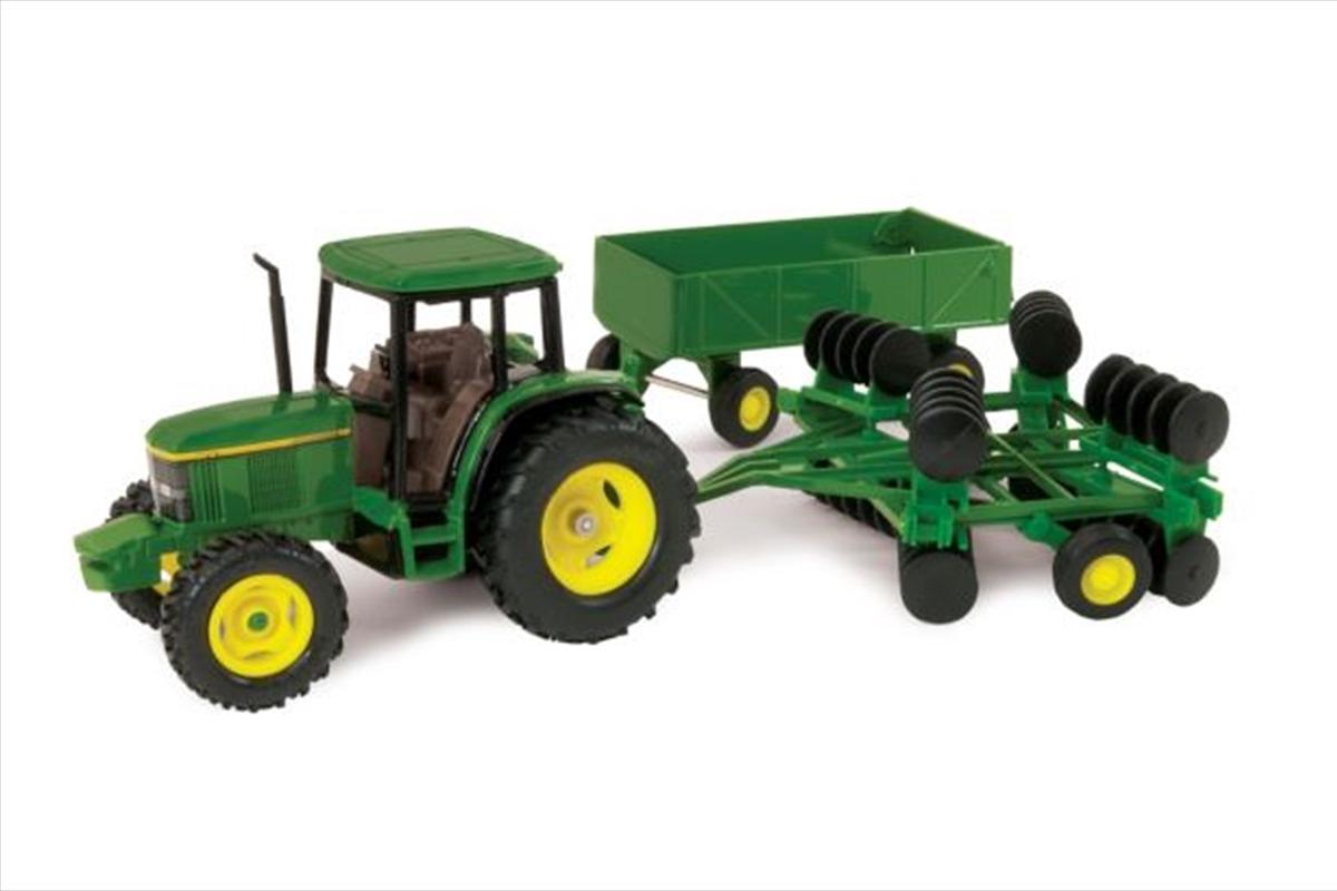 1:32 Scale John Deere 6410 Tractor Set   Toy