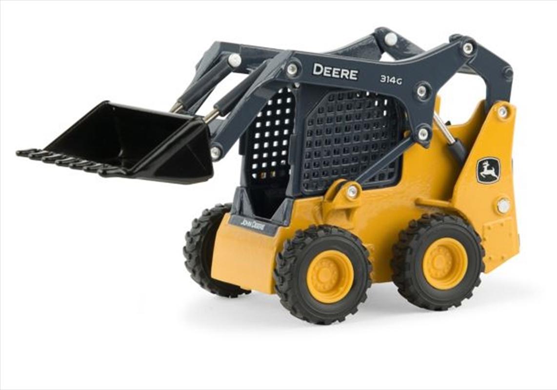 1:32 Scale John Deere 314G Skid Steer Loader | Toy