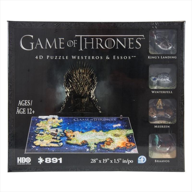 4D Cityscape Game of Thrones - Westeros & Essos | Merchandise