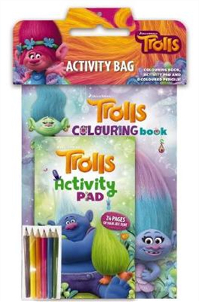 Dreamworks: Trolls Activity Bag | Paperback Book