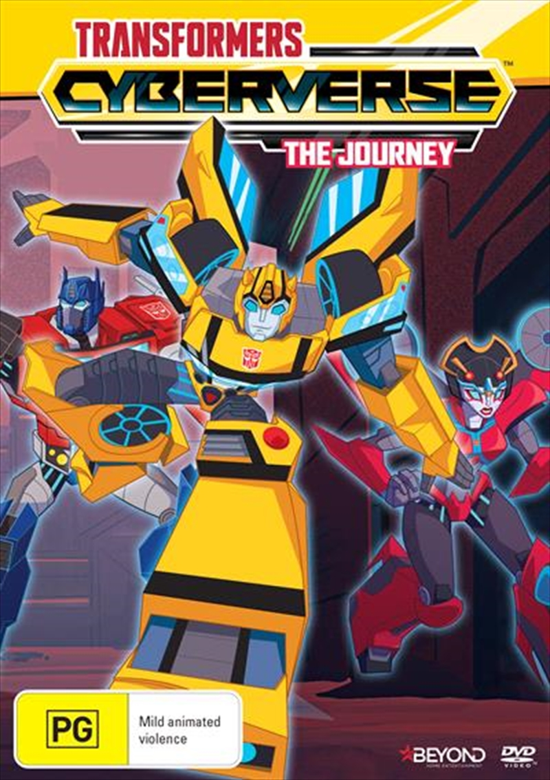 Transformers Cyberverse - The Journey | DVD