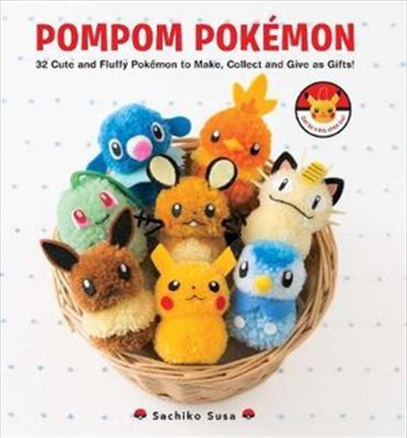 Pompom Pokemon | Paperback Book