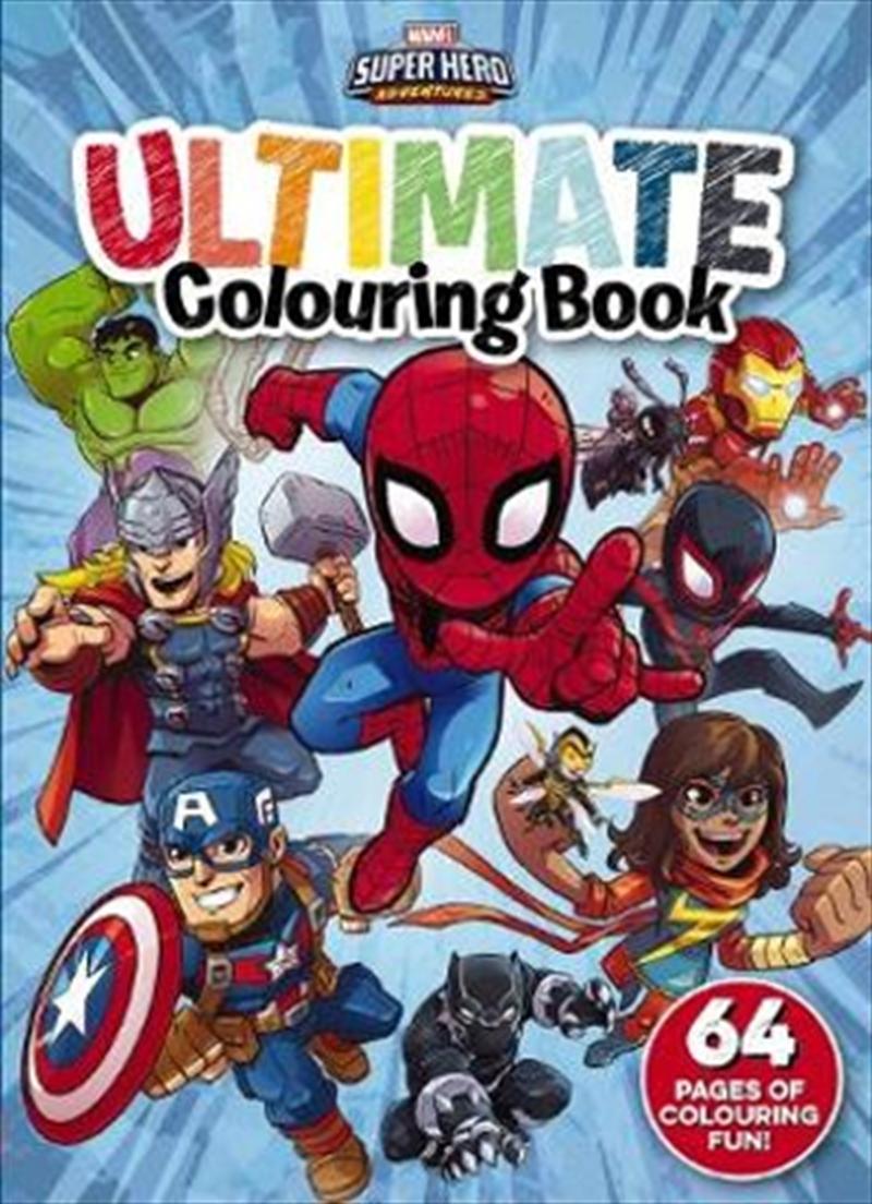 Marvel: Super Hero Adventures Ultimate Colouring Book | Paperback Book