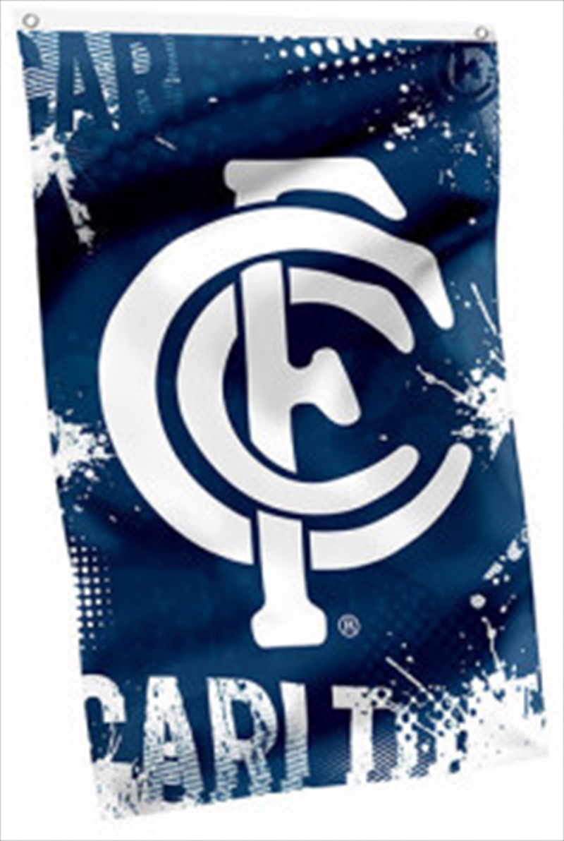 AFL Cape Flag Carlton Blues | Merchandise