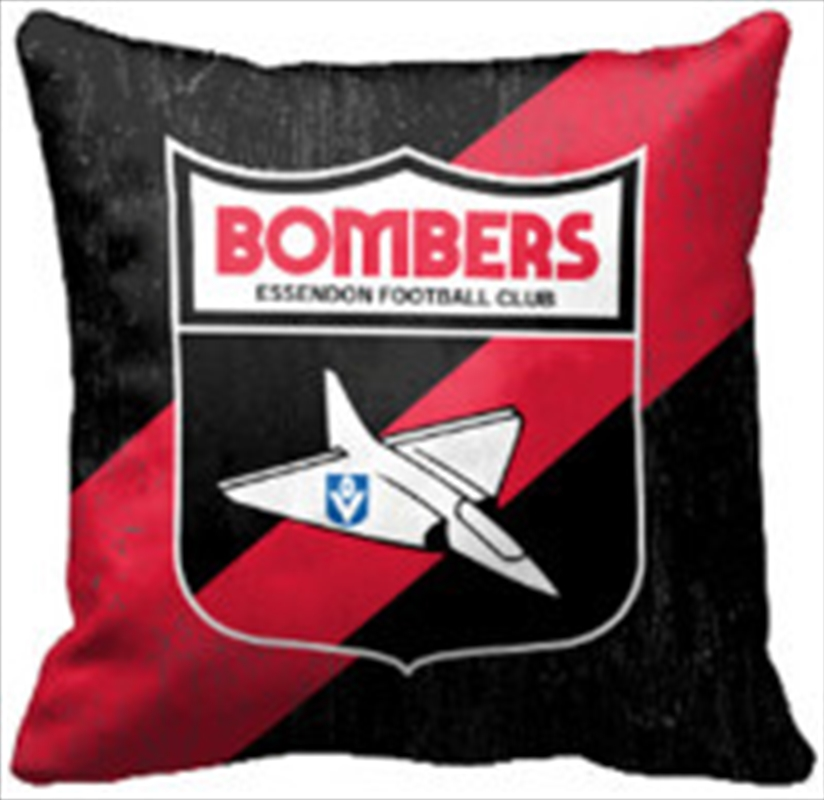 AFL Cushion 1st Team Logo Essendon Bombers | Homewares