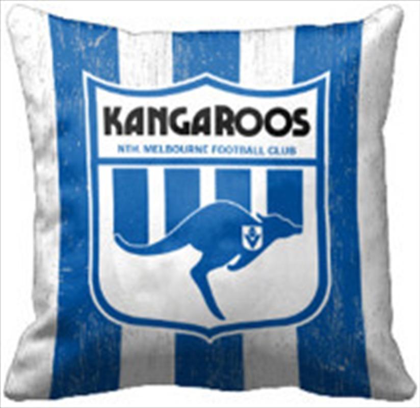 AFL Cushion 1st Team Logo North Melbourne Kangaroos | Homewares