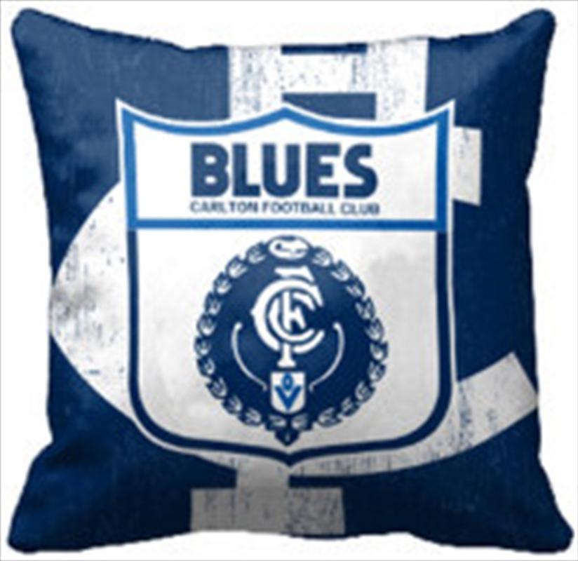 AFL Cushion 1st Team Logo Calton Blues | Homewares