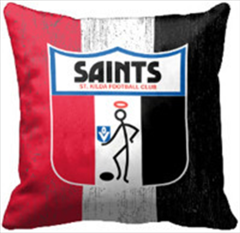 AFL Cushion 1st Team Logo St Kilda Saints | Homewares