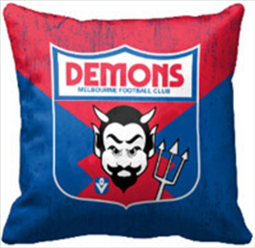 AFL Cushion 1st Team Logo Melbourne Demons | Homewares