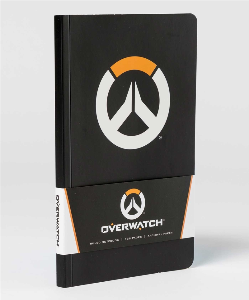 Overwatch Ruled Notebook | Paperback Book