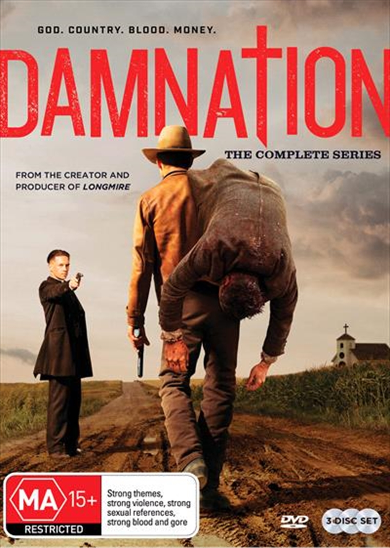 Damnation | Complete Series | DVD