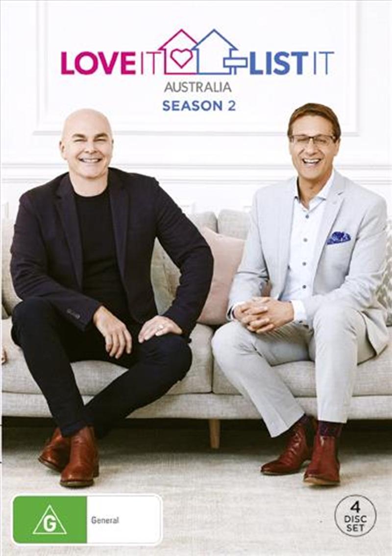Love It Or List It Australia - Season 2 | DVD