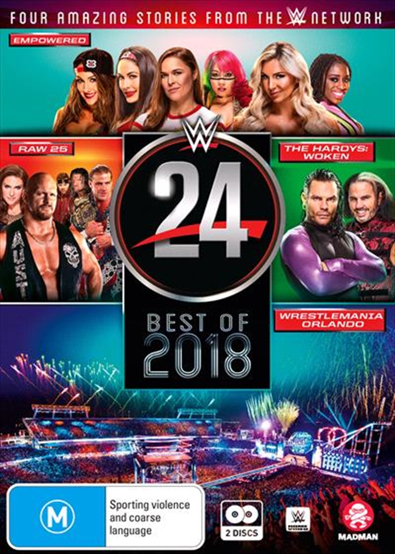 WWE - WWE 24 - The Best Of 2018 | DVD